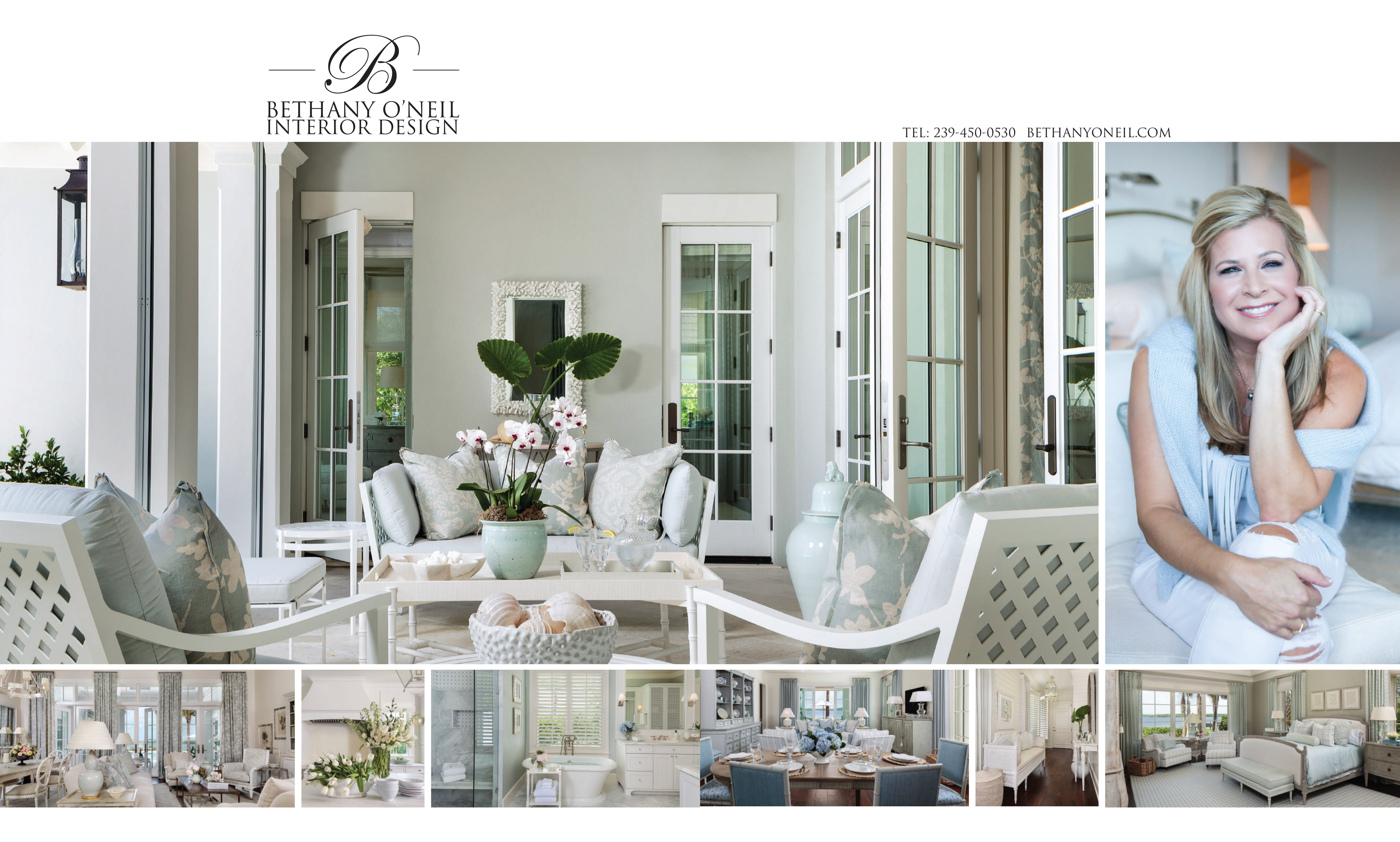 Bethany O'Neil Home & Design Ad